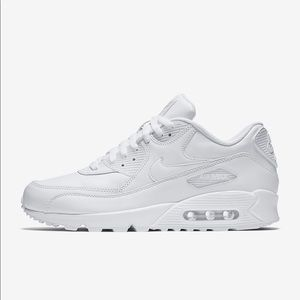 Air Max 90 'White Leather' Sneakers